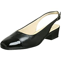 Trotters Dea Damen US 10 Schwarz Schmal Pumps Schuhe