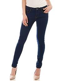 La Modeuse - Jeans slim avec surpiqûresapparentes