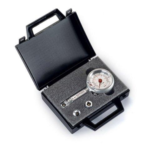 Reifendruckprüfer Reifendruckmesser mit Ablassventil 0-4 bar im Koffer Set -