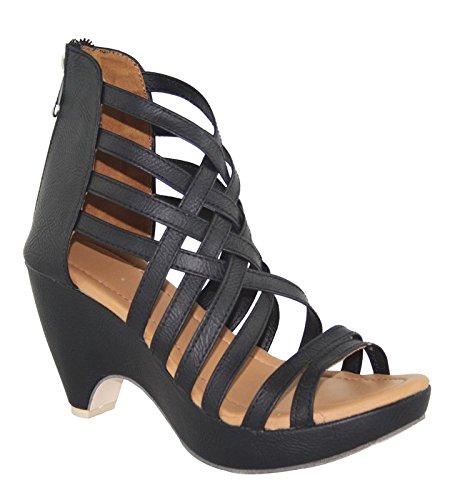 Cute Fashion Stylish Black Heels