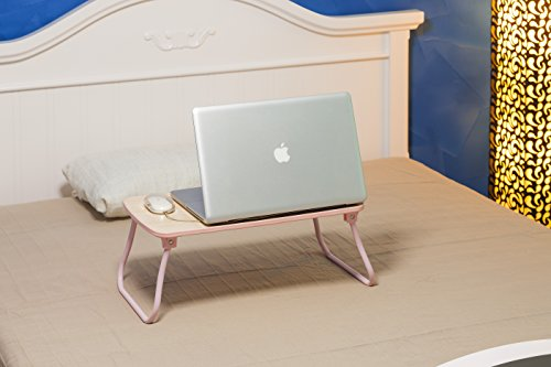 Auspicious Home Thyme Multipurpose Table (Laptop Table, Breakfast Table, Bed Writing Table, Bed Table) Suitable Laptop size upto 16 Inch  available at amazon for Rs.699