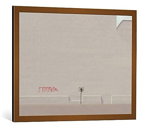 """Image encadrée: Klaus Lenzen """"game over"""" - impression d"""