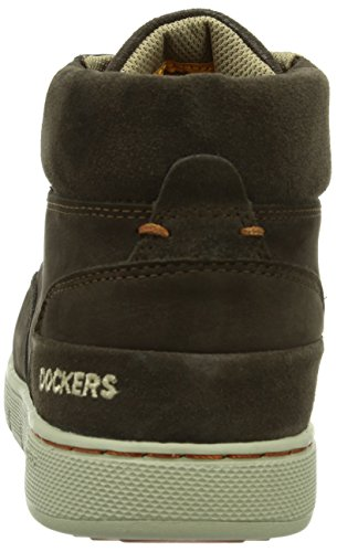 Dockers by Gerli 352621-003020 Herren Hohe Sneakers Braun (cafe  020)