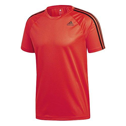 Adidas ce4021, t-shirt uomo, rosso, l