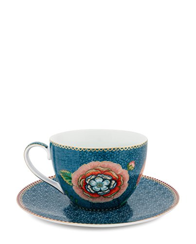 PIP Studio Cappuccinotasse Spring to life blue