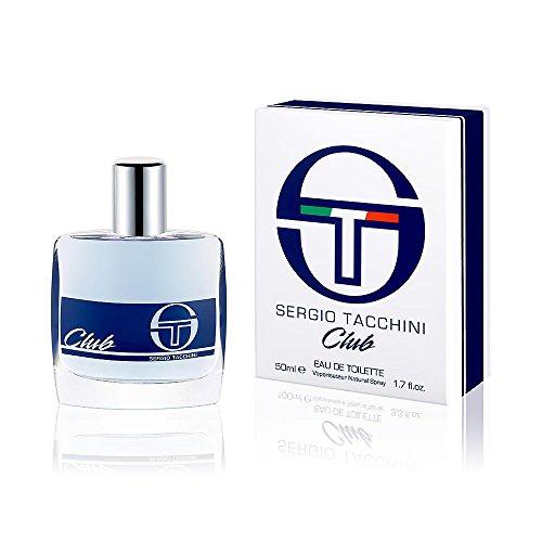 Sergio Tacchini Club Eau De Toilette Vap, 50 ml - 1 Unità