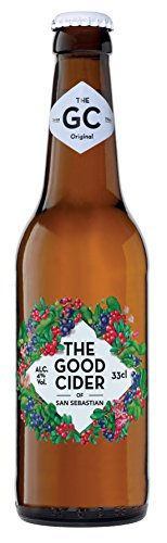 THE GOOD CIDER OF SAN SEBASTIAN WILD BERRIES 33CL - Caja con 24 botellas