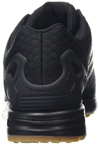 Adidas Zx Flux - Sneakers Basses - Mixte Adulte Black (Core Black/Core Black/Gum)
