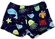 SOL Y PLAYA-Bañador Tiburón para niño Bañador Niños Boxer en Slips de natación Traje de Baño (Shark Shark) Ani