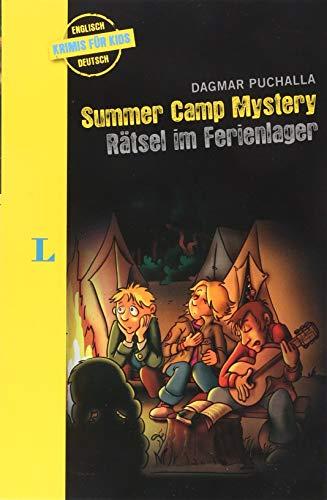 Summer Camp Mystery - Rätsel im Ferienlager - zweisprachig Deutsch - Englisch: Krimi für Kids (Englische Krimis für Kids)