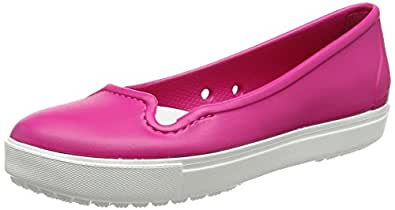crocs Women's Citilane W Flat, Candy Pink, 6 M US