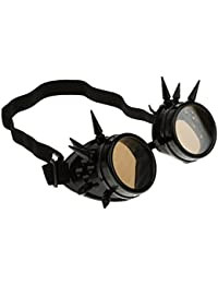 B Baosity Gafas de Sol Soldador Steampunk Gótico Picos Cosplay Vintage Artículos de Fiesta Papelería