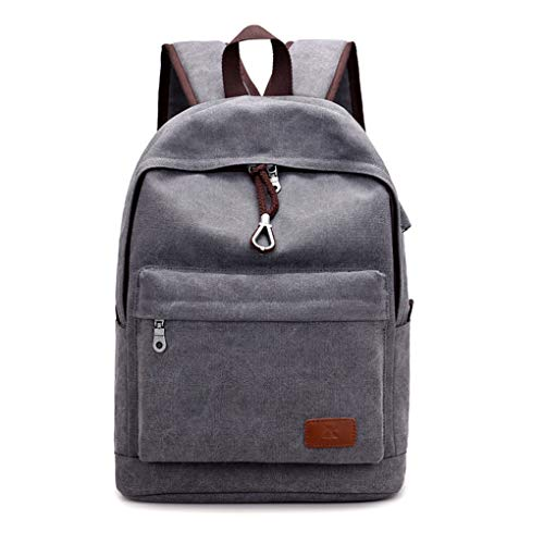 Zaino da uomo zaino da viaggio borsa per studenti universitari borsa in tela di alta qualità da uomo trendy borsa per computer versatile da lavoro a