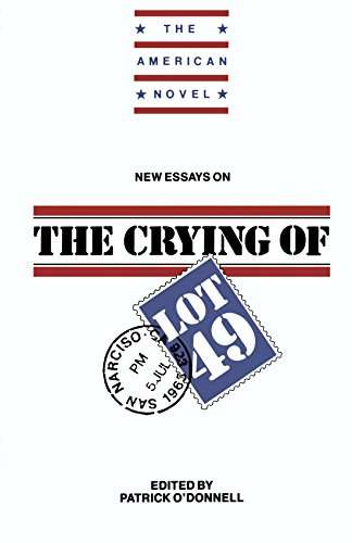 New Essays on The Crying of Lot 49 (The American Novel) by Patrick O'Donnell (Editor) ᅵ Visit Amazon's Patrick O'Donnell Page search results for this author Patrick O'Donnell (Editor) (31-Jan-1992) Paperback