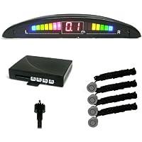 PS034S - asistente de aparcamiento, sensores de aparcamiento con LED Color pantalla con 4 sensores PLATA