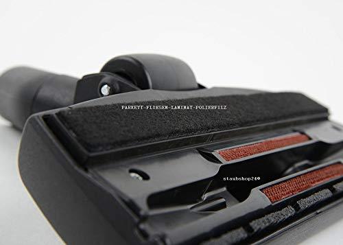 BODENDÜSE-und PARKETTDÜSE 2 in 1 ORIGINAL MARKENWARE WESSEL-WERK 32mm mit FILZSTREIFEN geeignet für FAWAS ZENTRALSTAUBSAUGER