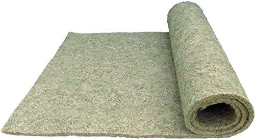 Nagerteppich für Kaninchen aus 100 % Hanf, 100 x 40 cm 5 mm dick, 10er Pack