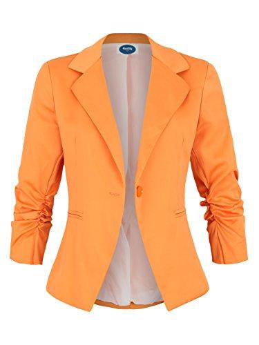 AO Damenblazer mit 3/4 Arm orange Gr. S