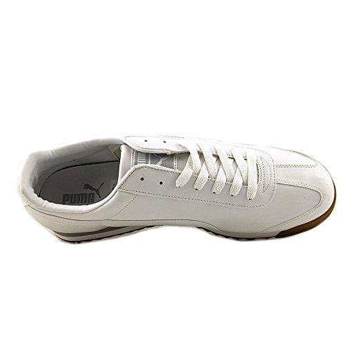 Puma Roma L Gum Synthétique Baskets White Glacier Gray