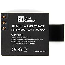 DURAGADGET Batería Recargable Para La Cámara De Acción Cooler SJ4000 + Gamuza Limpiadora - 3.7V 900mAh - ¡Perfecta Para Reemplazar A La Original!