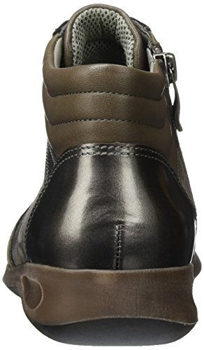Ara Rom-Stf - Pantofole a Stivaletto Donna Grigio (Grau (street, Titan)