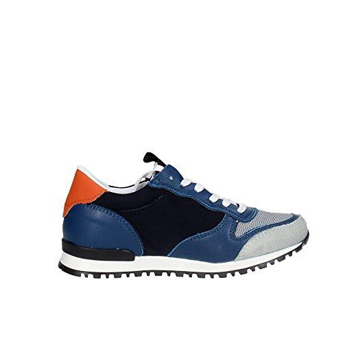 D.a.t.e. BOSTON-86 Sneakers Boy Blau/Grau