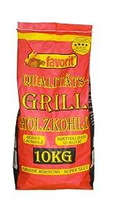 Favorit 1000 Grill-Holzkohle 10 kg