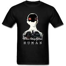 BlessVanish Men's Three Days Grace Human T Shirt S