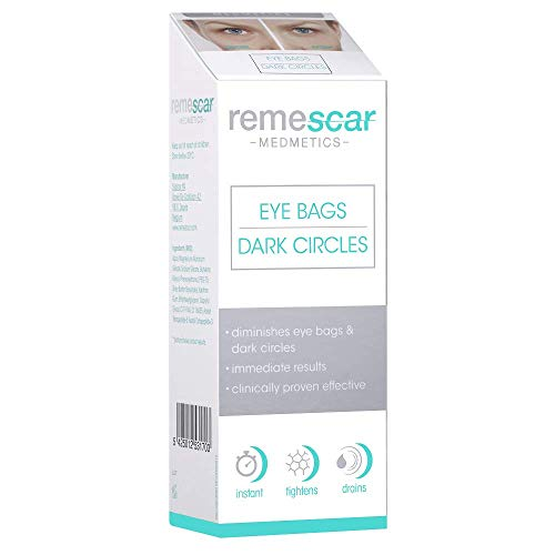Remescar Klinisch Bestätigtes Augencreme gegen Tränensäcke und Augenringe | Vermindert Dunkle Augenringe und Tränensäcke | Sofortige Ergebnisse Klinisch Bestätigt