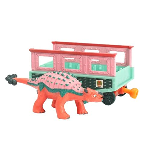 Learning Curve Dinosaur Train Collectible Dinosaur With Train Car: My Friends have Armor: Eugene