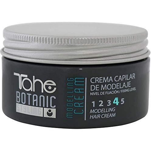 Tahe Botanic Styling Modelling Cream Crema de Peinar para Cabello Ideal para Fijar Rizos Fijación 4 100 ml