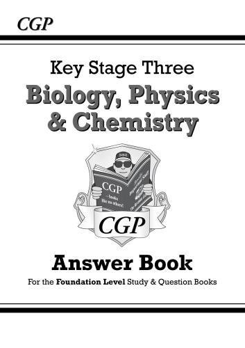 KS3 Science Answers for Study & Question Books (Biology/Chemistry/Physics) - Foundation