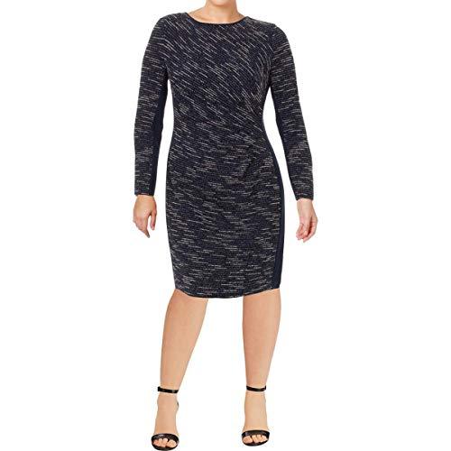 Lauren Ralph Lauren Damen Kleid mit V-Ausschnitt - Mehrfarbig - 36 -