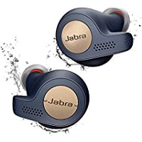 Jabra Elite Active 65t écouteurs Bluetooth 5.0 True Wireless Sport avec le service vocal Amazon Alexa intégré - Bleu