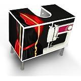 Lavabo Armario Armario baño armario de muebles de baño lavabo con diseño: Máquina de coser