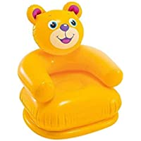 Toys and Games Teddy Bear Shape Inflatable Chair for Kids   PVC Animal Sofa for Toddlers   Plastic Air Chair for…