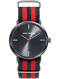 Reloj Mark Maddox Hombre HC3029-57 Negro y Rojo