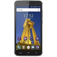 HOMTOM HT27 - Smartphone 3G Android 6.0 (5.5 schermo HD, Marshmallow MTK6580 Quad Core 1.3GHz, 1GB RAM 8GB ROM, 3000mAh Fingerprint Recognition, Smart Wake Dual SIM OTA GPS WIFI) Negro