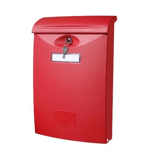 Basis-kunststoff-montage (Basi Kunststoff-Briefkasten, rot, BK 300)