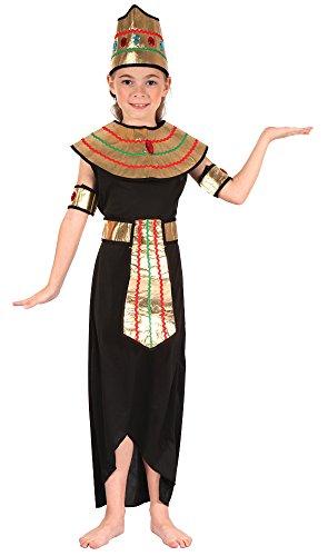 Fancy Me Ragazze 5 Pezzo Regina del NILO Giornata Mondiale del Libro Settimana Storico Riga Carnevale Egitto Around The World Costume Vestito 4-12 Anni - 10-12 Years