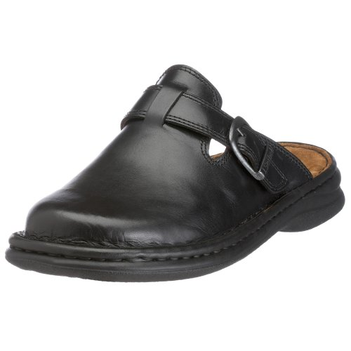 Josef Seibel Schuhfabrik Gmbh Madrid, Mens Clogs and Mules, Black, 9 UK