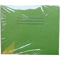 Quaderni–Confezione da 25–verde–ogni 16pagine–quadrato 1cm grafico a quadretti–Dimensioni 160mm x 135mm–by Hamelin