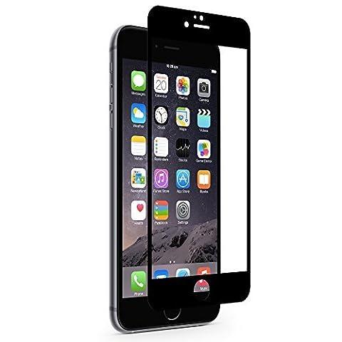 Moshi iVisor Glass Film de protection d'écran en verre renforcé pour iPhone 6 Plus Noir