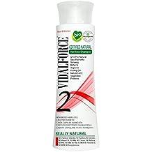 VidalForce Champu 2 Anticaida Caída Avanzada Natural Certificado Sin Sulfatos Quimicos, Parabenes y Siliconas.
