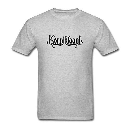 Men's Korpiklaani Folk Metal Dand Logo T-Shirt S ColorName Short Sleeve Medium