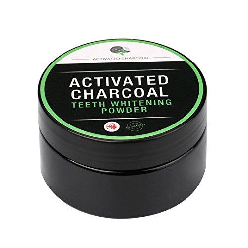 Beste Natürliche Deodorant (Beauty Teeth Whitening Powder Natürliche Bio-Aktivkohle Bambus Zahnpasta Zahnpulver)