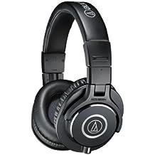 Audio-Technica ATH-M40X - Auriculares de diadema cerrados (40 mm, jack 3.5 mm, plegable), color negro