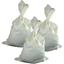 1 Stück PP Gewebesäcke 50 x 80 cm 75g weiß 25kg 50 Liter Sandsack