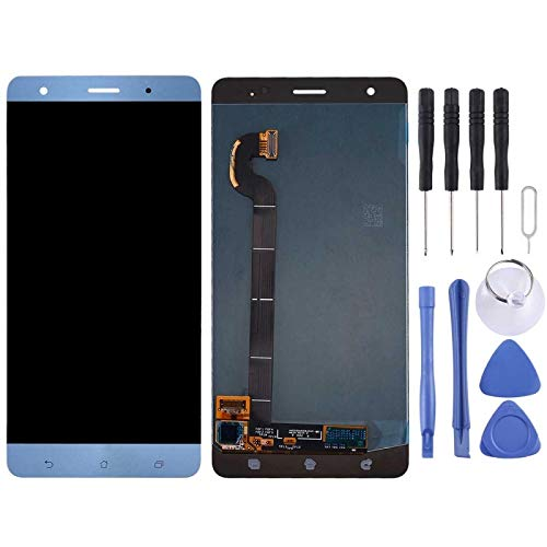 Display LCD + Touch Screen Asus ZenFone 3 Deluxe ZS570KL Z016D Schermo Blu