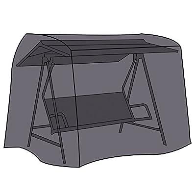 LEX Schutzhülle Deluxe für Gartenschaukel, 210 x 150 x 130 cm, Kastenform, Drei-Sitzig, 2 Reißverschlüsse, Tragetasche von Linder Exclusiv bei Gartenmöbel von Du und Dein Garten
